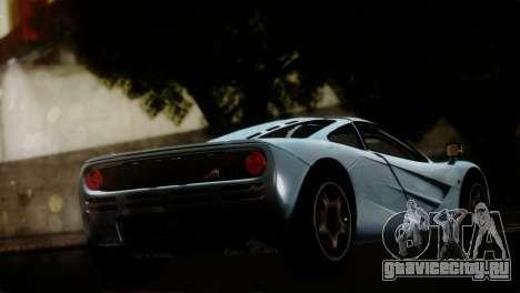 McLaren F1 Autovista для GTA San Andreas вид слева