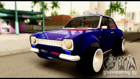 Ford Escort MK1 Modifive для GTA San Andreas