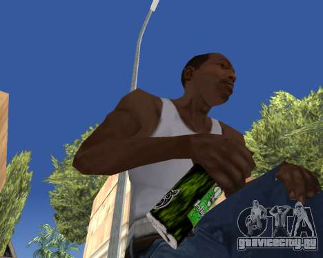 HD Weapon Pack для GTA San Andreas десятый скриншот
