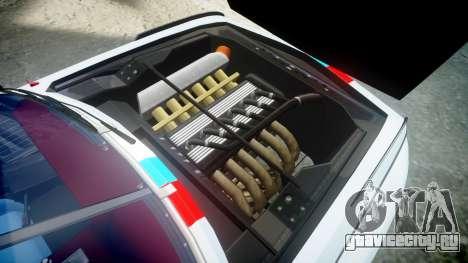 BMW 3.0 CSL Group4 для GTA 4 вид сзади