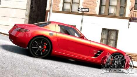 Mercedes-Benz SLS AMG 2011 [EPM] для GTA 4 вид слева
