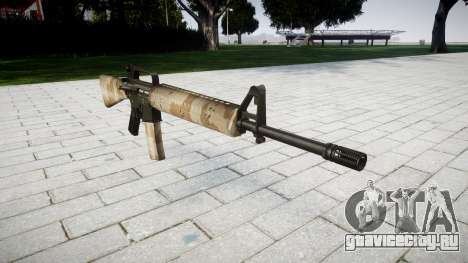 Винтовка M16A2 nevada для GTA 4