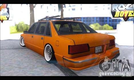 Taxi Extreme Tuning (Hellalfush) для GTA San Andreas вид сзади слева