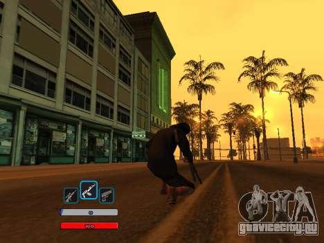 C-HUD by Fawkes (Fix) v2 для GTA San Andreas второй скриншот
