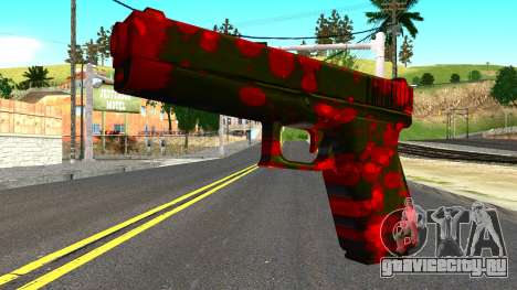 Pistol with Blood для GTA San Andreas