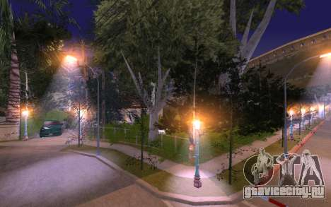 New Grove Street 50 для GTA San Andreas пятый скриншот