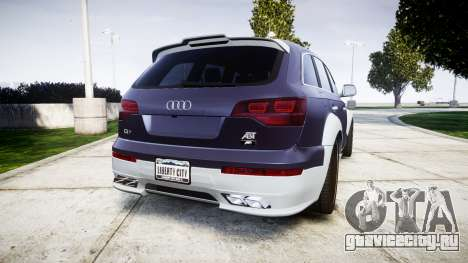 Audi Q7 2009 ABT Sportsline [Update] rims1 для GTA 4 вид сзади слева