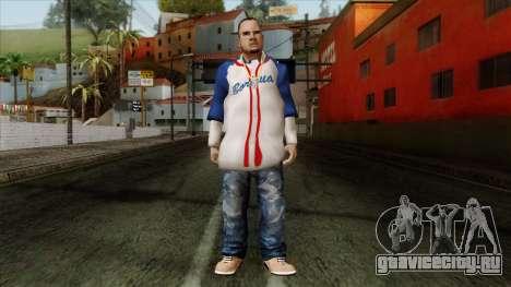GTA 4 Skin 20 для GTA San Andreas