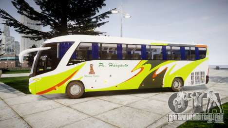 Marcopolo Paradiso G7 1200 PO Haryant для GTA 4 вид слева