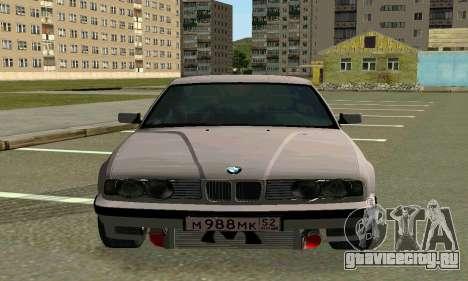 BMW 525 Turbo для GTA San Andreas вид слева