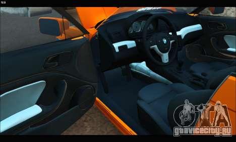 BMW e46 Sedan для GTA San Andreas вид справа
