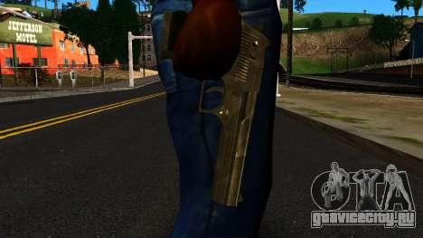 Desert Eagle from GTA 4 для GTA San Andreas третий скриншот