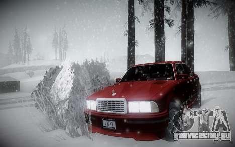 Зимний ENBSeries для GTA San Andreas второй скриншот
