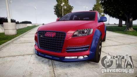 Audi Q7 2009 ABT Sportsline для GTA 4