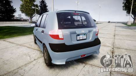 Hyundai Getz 2006 for ENB для GTA 4
