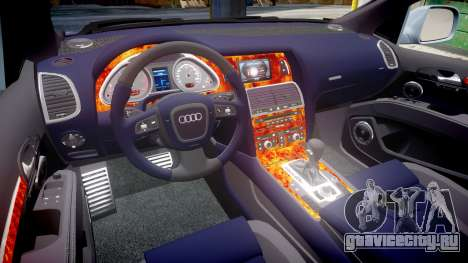Audi Q7 2009 ABT Sportsline [Update] rims1 для GTA 4 вид сбоку