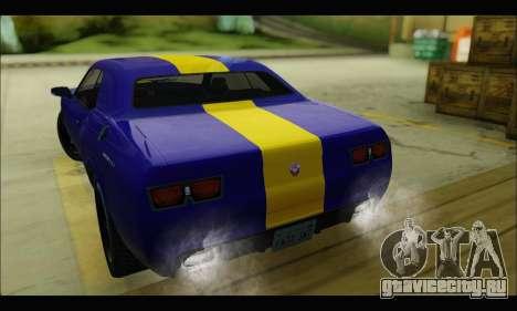 Bravado Gauntlet (GTA V) для GTA San Andreas вид справа