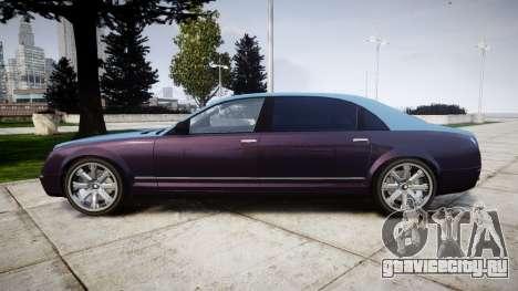Enus Cognoscenti VIP для GTA 4 вид слева