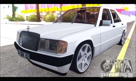 Mercedes Bad-Benz 190E (34 DDK 82) для GTA San Andreas