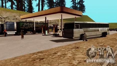 Оживление заправок San Fierro Country для GTA San Andreas десятый скриншот