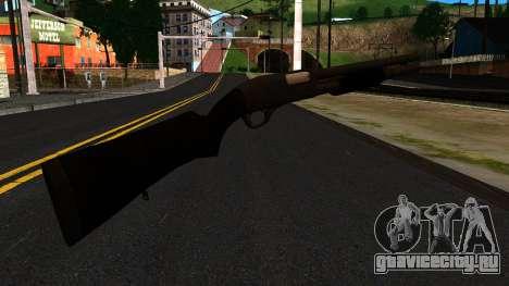 Чёрный MP-133 Без Блеска для GTA San Andreas второй скриншот