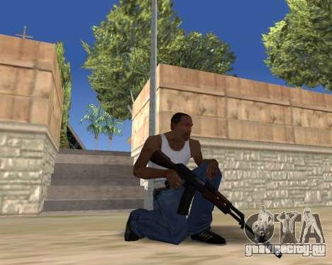 HD Weapon Pack для GTA San Andreas восьмой скриншот
