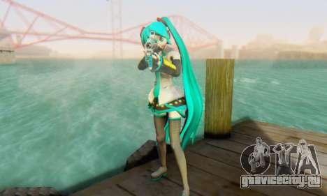 Hatsune Miku Dreamy Theater для GTA San Andreas четвёртый скриншот