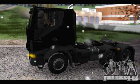 Iveco Trakker 2014 Snow (IVF & ADD) для GTA San Andreas вид слева