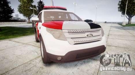 Ford Explorer 2013 Police Forca Tatica [ELS] для GTA 4