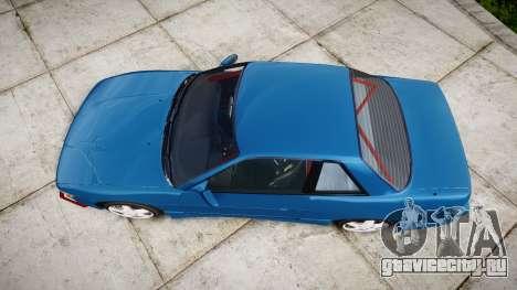 Nissan Silvia S13 Missile для GTA 4 вид справа