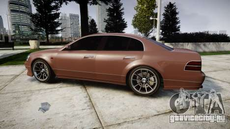 GTA V Karin Intruder Tuning Rims для GTA 4 вид слева