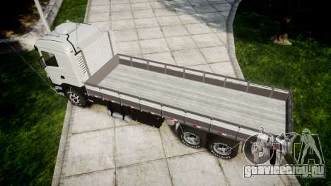 Scania 124G 400 для GTA 4 вид справа