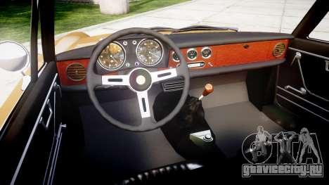 Alfa Romeo Spider 1966 для GTA 4 вид сзади