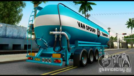 Mercedes-Benz Actros Trailer VAN OPDORP для GTA San Andreas
