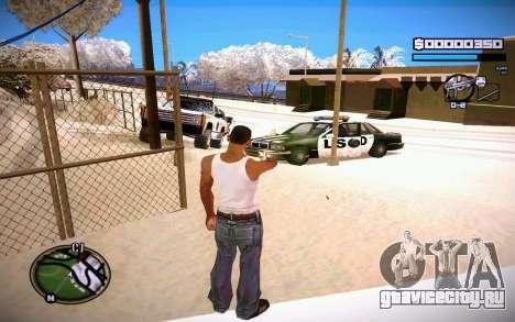 HUD GOSKA для GTA San Andreas третий скриншот