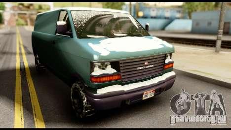 GTA 5 Burrito для GTA San Andreas