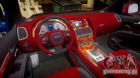 Audi Q7 2009 ABT Sportsline для GTA 4 вид сбоку