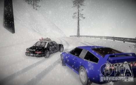 Зимний ENBSeries для GTA San Andreas третий скриншот
