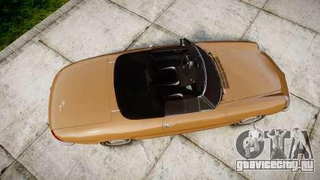 Alfa Romeo Spider 1966 для GTA 4 вид справа