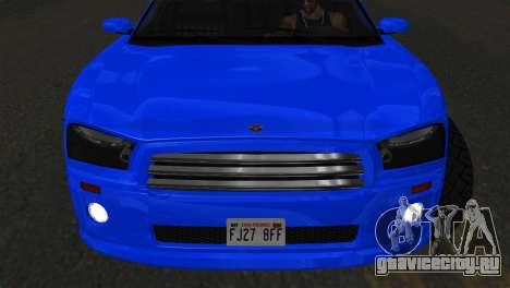 Bravado Buffalo Sedan v1.0 (IVF) для GTA San Andreas вид справа