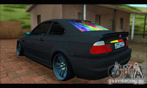 BMW M3 E46 Carbon для GTA San Andreas вид слева