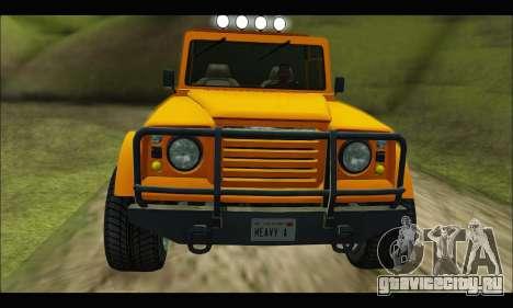 Canis Bodhi (GTA V) для GTA San Andreas вид слева