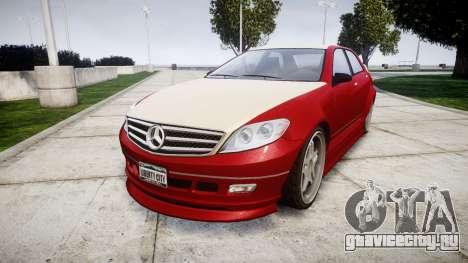 Benefactor Schafter Mercedes-Benz для GTA 4