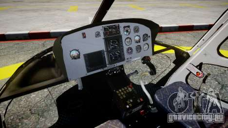 Eurocopter AS350 Ecureuil Aguia 11 PMESP для GTA 4 вид справа