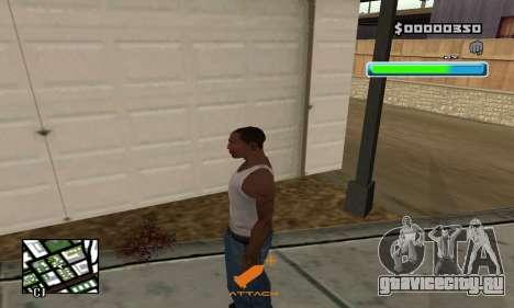 C-HUD Compact для GTA San Andreas второй скриншот
