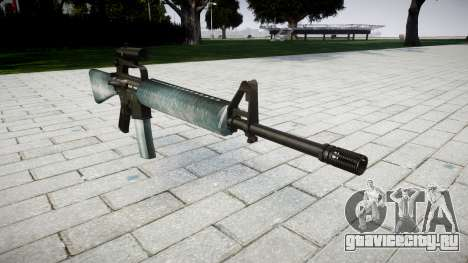 Винтовка M16A2 [optical] icy для GTA 4