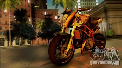 KTM Duke 125 для GTA San Andreas