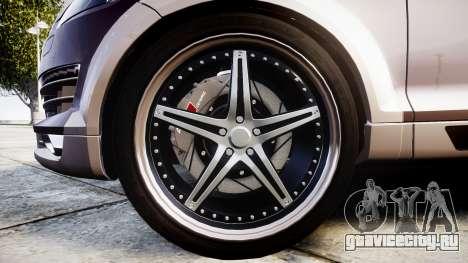 Audi Q7 2009 ABT Sportsline [Update] rims2 для GTA 4 вид сзади