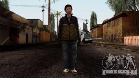 GTA 4 Skin 25 для GTA San Andreas