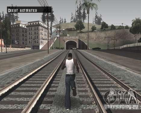 Colormod High Black для GTA San Andreas третий скриншот